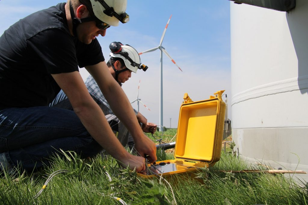 inspections des parcs éoliens